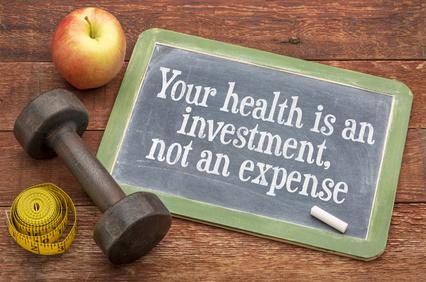 votre santé est un investissement, pas une dépense